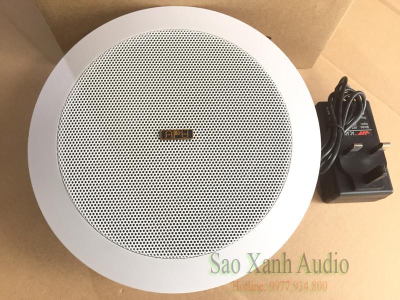 Loa Âm Trần Bluetooth APU CS20B kết nối phát nhạc không dây