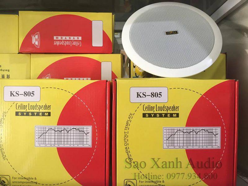 Loa âm trần APU KS805 số lượng rất nhiều tại Sao Xanh Audio