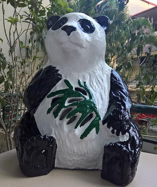 Loa sân vườn hình gấu DB LS901 ngộ nghĩnh đáng yêu, âm thanh hay