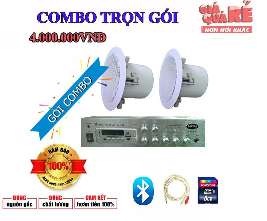 Trọn gói cấu hình loa nghe nhạc cao cấp phù hợp với diện tích phòng 20-40m2 giá chỉ 4.000.000VNĐ