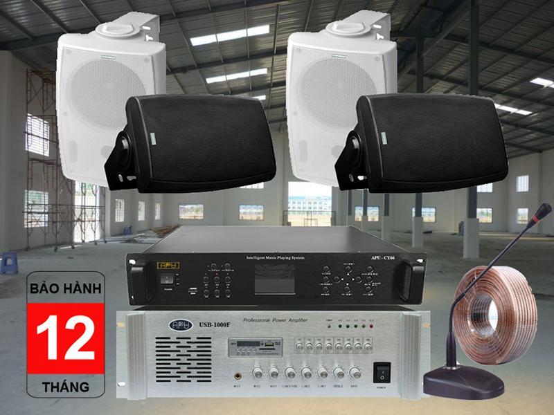 Hệ thống âm thanh cho xưởng may thông báo tối ưu nhất